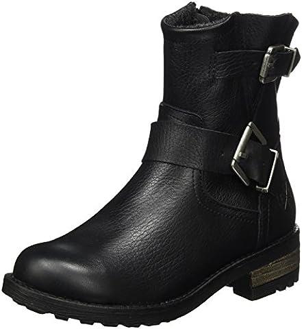 Bullboxer Mädchen AHT500E6L Chelsea Boots, Schwarz (Black), 38 EU
