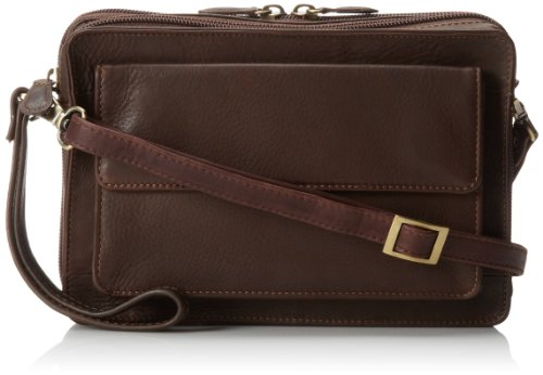 derek-alexander-ew-top-zip-with-rear-organizer-brown-one-size
