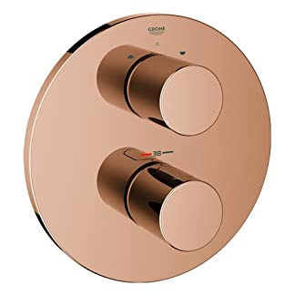 41CNkl6NNVL. SS324  - Grohe Grohtherm 3000 Cosmopolitan termostato parte exterior baño Warm Sunset