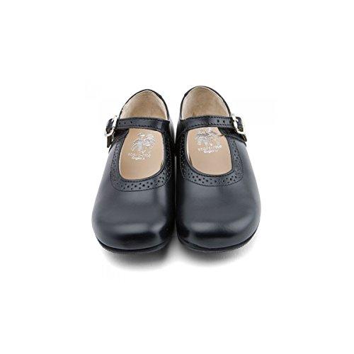 Start Rite - Scarpe elegante Clare, Bambina - 7 Black Leather