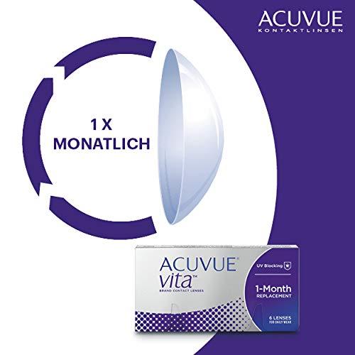 Acuvue Kontaktlinsen Vita Monatslinsen weich, 6 Stück / BC 8.4 mm / DIA 14.0 mm / -3.5 Dioptrien - 4