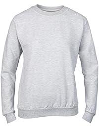 Anvil Womens Set-In Sweatshirt Jumper S-2XL