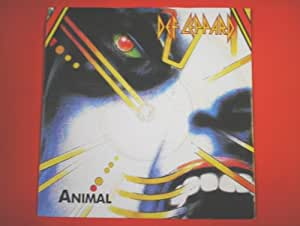 "Def Leppard Animal 7"" Bludgeon Riffola LEP1 EX/EX 1987 picture sleeve"