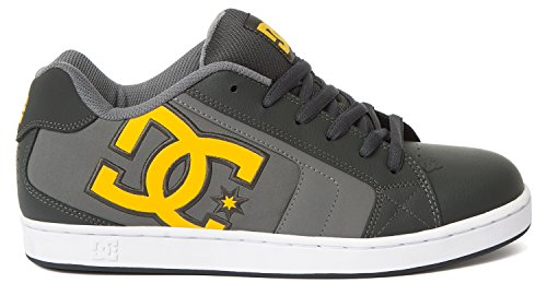 DC Shoes Net, Sneakers Basses homme Gris