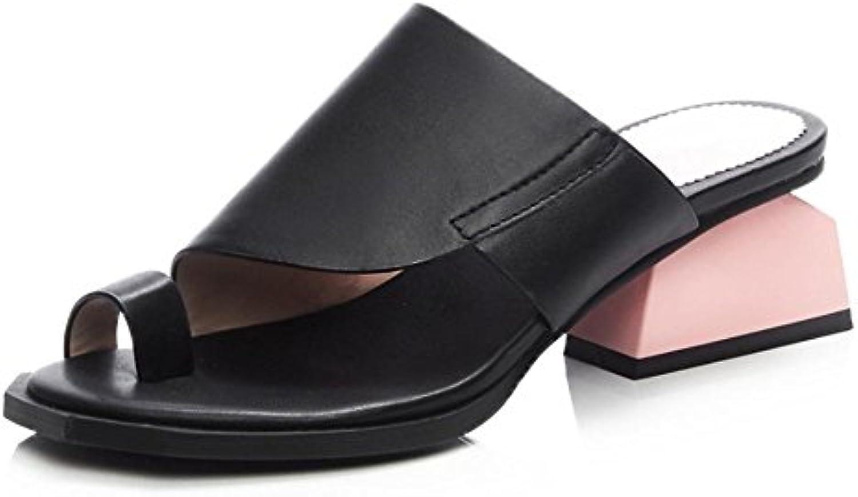 La Sra establece en la mujer sandalias y zapatillas sandalias de las mujeres sandalias de punta sandalias de verano...