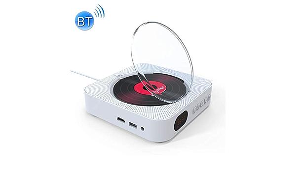 Kc 606 Dvd Player Mit Wandanschluss Bluetooth Edr Fm Hdmi Full Hd Mp3 Wma Cd Elektronik