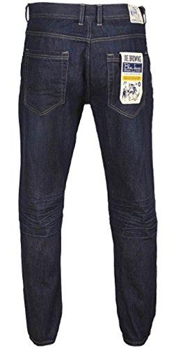 Joe Browns Herrenjeans Straight Leg & Slim Fit W30 bis W38 Jeans Hose Herren Dunkelblau - Slim Fit