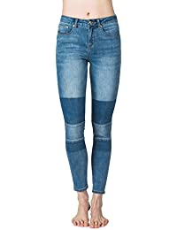 Rip Curl Pins High-Patched Indigo, Woman Color: Mid Blue