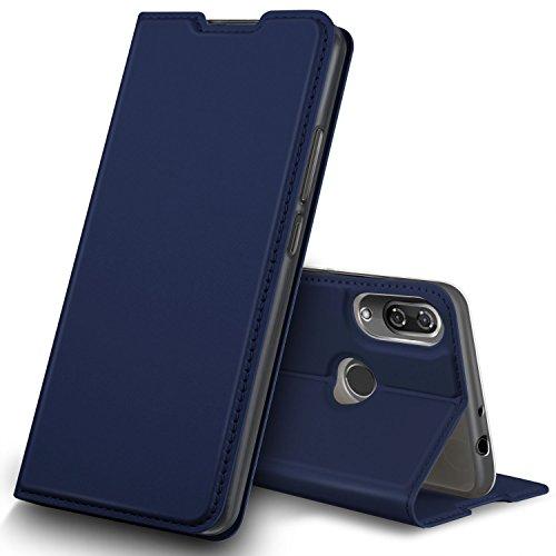 Geemai Cover Wiko View 2, Custodia Protettiva Wiko View 2, Wiko View 2 Cover Protettiva,Protezione di Lunga Durata, Protezione efficiente degli Wiko View 2 Smartphone.(Blu)