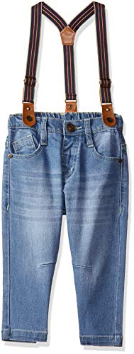 Donuts by Unlimited Baby Boys' Straight Regular Fit Jeans (400017534015_Lt-Blue_06M)