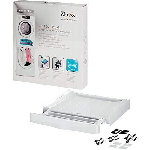 Whirlpool SKS200 Kit Colonna Bucato Premium Care, Normale