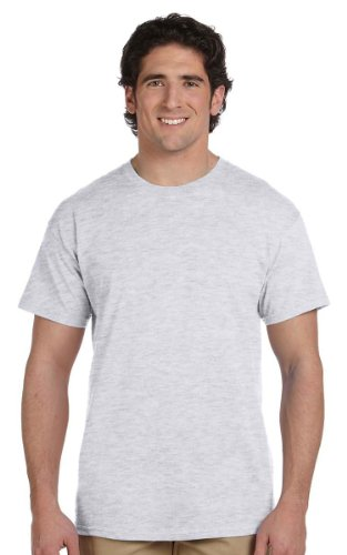 Hanes Comfort Blend Cotton Poly T-Shirt Ash
