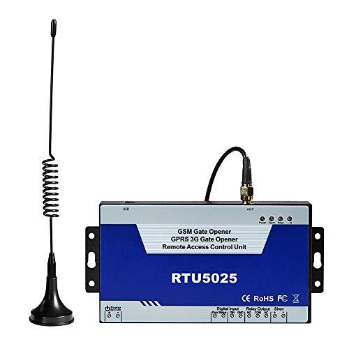 RTU5025 GSM 3G Gate Opener GPRS GSM Wireless Remote Switch Operator Türöffner mit GSM Dial SMS Steuerung per Handy Alarm -