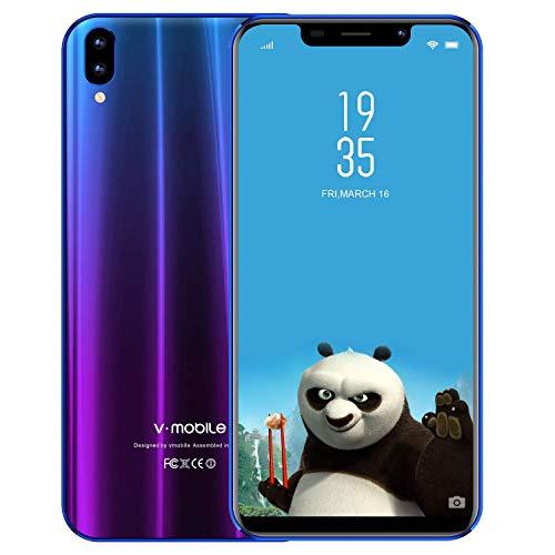 Smartphone de 5.84' 19:9 HD+ V Mobile XSPro 3GB RAM 32GB ROM | 3800mAh Batería | Cámara 13MP+5MP | Reconocimiento...