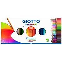 Giotto Stilnovo con Temperamatite, 50 Pezzi, 257300