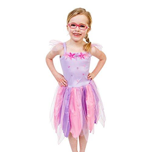 Lila Blumenfee Kostüm Kinder - Karneval Fee Kostüm -