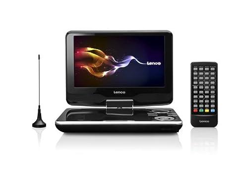 Lenco DVP-9411 tragbarer DVD-Player (22,9 cm (9 Zoll), DVB-T Tuner, USB)