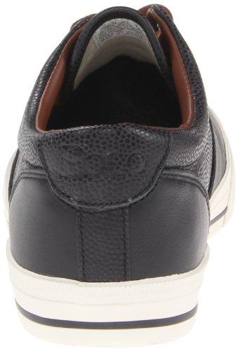 Polo Ralph Lauren Vaughn Saddle Hommes Toile Baskets Black