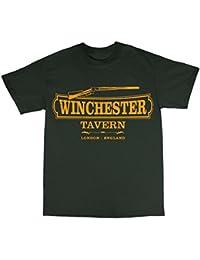 Winchester Tavern Shaun Of The Dead Inspired Camiseta 100% Algodon