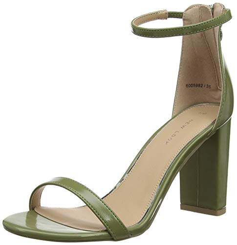 New Look Sheek, Zapatos Tacon Correa Tobillo Mujer