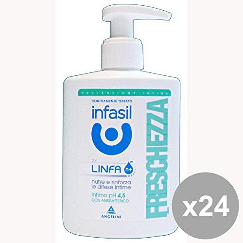 Lot 24 Infasil Savon intime fraicheur 200 ml. Les savons et cosmétiques