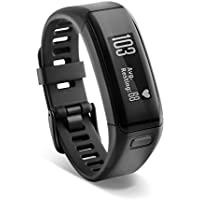 Garmin Vivosmart HR Activity Tracker with Smart Notification and Wrist Based Heart Rate Monitor - Regular, Black
