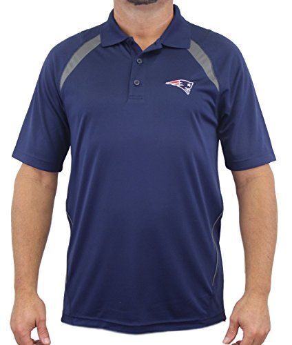 "New England Patriots Majestic NFL ""Winners"" Men's Short Sleeve Polo Shirt"