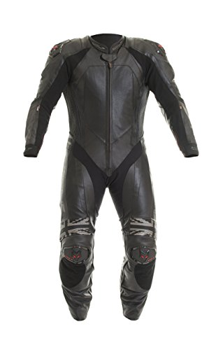 Wolf 2400 Racing-K M Leather Suit 46 (XL) BLK