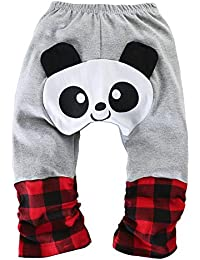 PAUBOLI Baby Baggy Pants Cartoon Infant Cotton Soft Cozy Crawling Pants  (15-24 Months f70ab11da