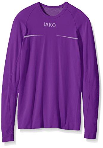 JAKO Longsleeve ComfortKinder Kinder Langarmshirt,violett (lila), 164/176