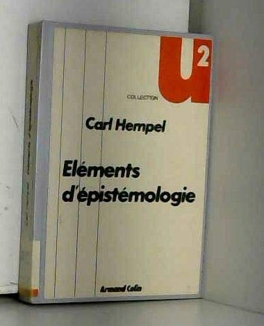 Elements d'epistemologie