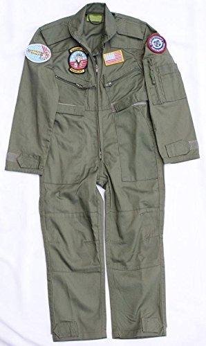 ragazze-bambino-us-air-force-aviator-flight-suit-fly-militare-dellesercito-milcom-tuta-13-14-anni