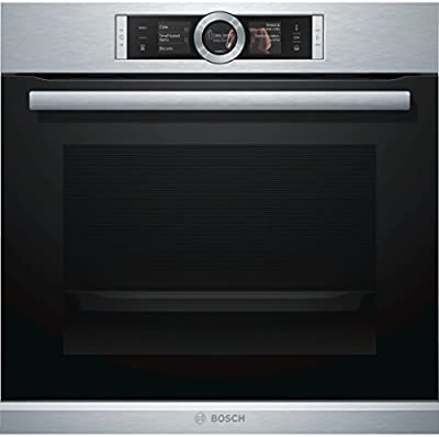 Bosch Serie 8 HRG6767S2 Eléctrico 71L 3600W A Negro, Acero inoxidable - Horno (Medio, Electric oven, 71 L, 3600 W, 71 L, 3600 W)