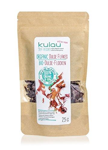 Dulse Flocken (KULAU Bio-Dulse-Flocken 25 g Dulse Algen bio getrocknet)