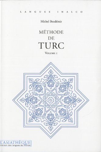 Méthode de turc. Volume 1 + 1 CD mp3