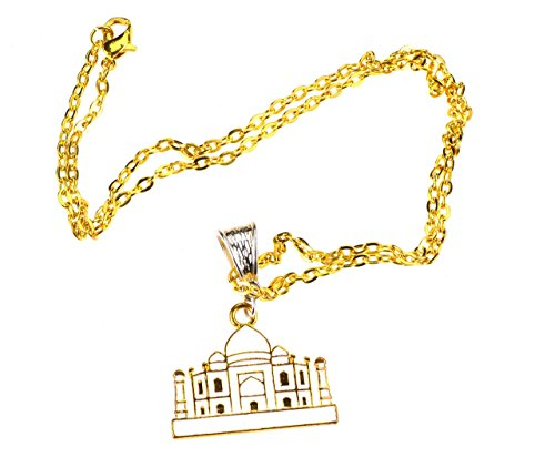 the-taj-mahal-gold-plated-pendant-necklace-with-50cm-gold-plated-chain-complimentary-gift-box-card