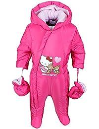 Hello Kitty Baby Schneeanzug mit Handschuhe Mädchen