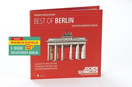 Preisvergleich Produktbild Erlebnis-Wahlgutschein 'Best of Berlin' mit Marco Polo Reiseführer