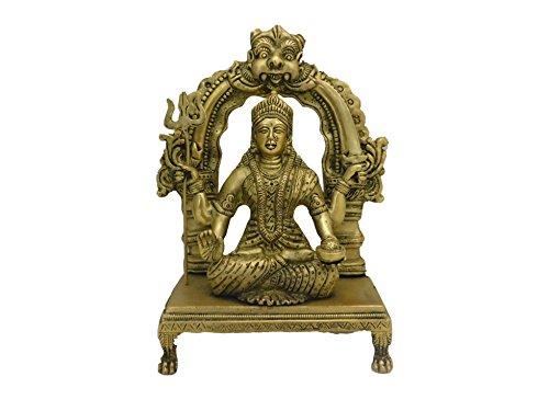 Shree Siddhivinayak Murti Bhandar Brass SANTOSHI MATA (19 cm x 9 cm x 26 cm)