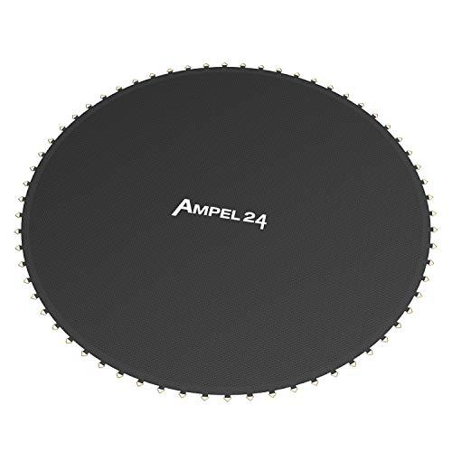 Ampel 24 - Tapis de Saut de Rechange Ø 262 cm/pour Trampoline au diamètre de 3,05m / 64 Oeillets/Couture Decuple/Charge Max 150kg