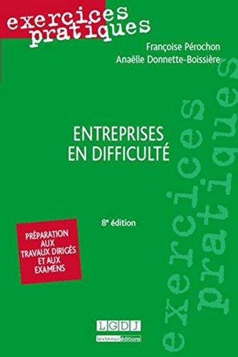 Entreprises en difficulté 8ed par Francoise Perochon