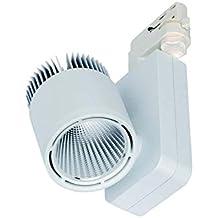 Fluter 3-Phasen LED-Strahler 3750lm Spot 6000K weiß 230V kaltweiß 50W