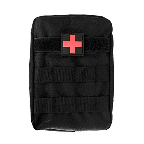 MagiDeal Molle Taktische Erste Hilfe Tasche Medizinische Notfalltasche für Outdoor Zuhause Sport Reisen Notfall Pack