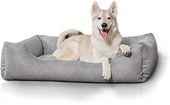 Knuffelwuff Lit pour chien Dreamline L -XL 105cm x 75cm Beige