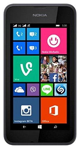 Nokia Lumia 530 4' SIM única 0.5GB 4GB 1430mAh Gris - Smartphone (10,2 cm (4'), 0,5 GB, 4 GB, 5 MP, Windows Phone 8.1, Gris)