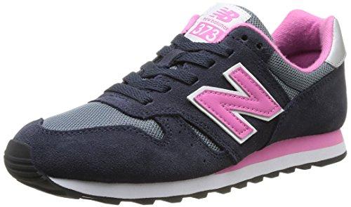 New Balance W373SNP - Calzado para mujer, color azul / gris / rosa, talla 40.5