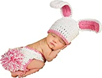 Lamaara® Baby Photography Clothes,Cut Baby Knitting Clothes,Hand made Newborns Hundred days Photography Clothes