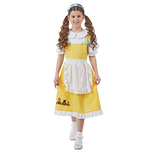 Kostüm Goldilocks Kinder - Fun Shack FNK4311M Kostüm, Girls, Goldilocks, m