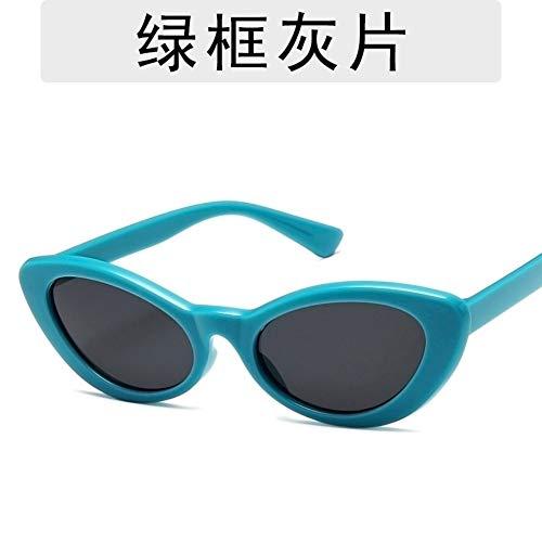Sonnenbrille Frauen Mode Retro Persönlichkeit Katze Augen Kleine Frame Sonnenbrille Designer Helle Und Komfortable Sommer Uv400 Outdoor Reisen Sport