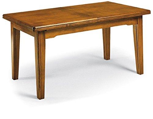 Lo scrigno arredamenti, tavolo rettangolare allungabile classico 180-360 w67/nc